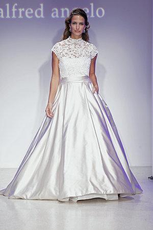 Wedding Dresses, Illusion Neckline Wedding Dresses, Ball Gown Wedding Dresses, Lace Wedding Dresses, Fashion, Alfred angelo