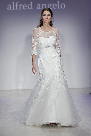 Wedding Dresses, Illusion Neckline Wedding Dresses, Mermaid Wedding Dresses, Lace Wedding Dresses, Romantic Wedding Dresses, Fashion, Spring Weddings, Garden Weddings, Alfred angelo