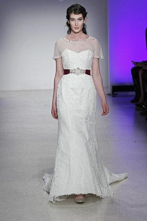 Wedding Dresses, Illusion Neckline Wedding Dresses, Lace Wedding Dresses, Romantic Wedding Dresses, Vintage Wedding Dresses, Fashion, Vintage Weddings, Alfred angelo, Art Deco Weddings