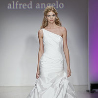 Wedding Dresses, One-Shoulder Wedding Dresses, Mermaid Wedding Dresses, Fashion, Modern Weddings, Alfred angelo