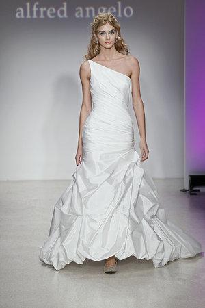 Wedding Dresses, One-Shoulder Wedding Dresses, Mermaid Wedding Dresses, Fashion, Modern Weddings, Alfred angelo