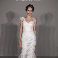 Wedding Dresses, One-Shoulder Wedding Dresses, Fashion, white, Alvina valenta
