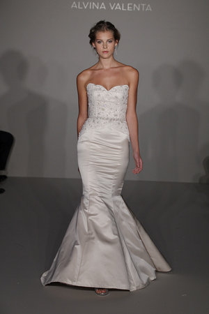 Wedding Dresses, Mermaid Wedding Dresses, Fashion, ivory, Alvina valenta