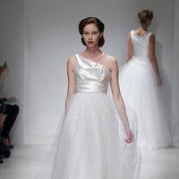 Wedding Dresses, One-Shoulder Wedding Dresses, A-line Wedding Dresses, Fashion