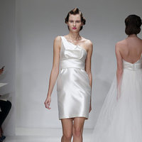Wedding Dresses, One-Shoulder Wedding Dresses, Fashion, Short Wedding Dresses