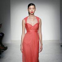 Bridesmaids Dresses, Fashion, pink, Spring Weddings, Garden Weddings, Amsale, Long Bridesmaid Dresses