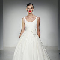 Wedding Dresses, Ball Gown Wedding Dresses, Traditional Wedding Dresses, Fashion, Classic Weddings, Modern Weddings, Amsale, Scoop Neck Wedding Dresses