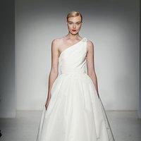 Wedding Dresses, One-Shoulder Wedding Dresses, Ball Gown Wedding Dresses, Fashion, Modern Weddings, Amsale