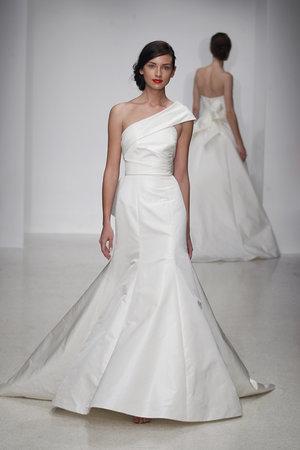 Wedding Dresses, One-Shoulder Wedding Dresses, Mermaid Wedding Dresses, Fashion, Modern Weddings, Amsale