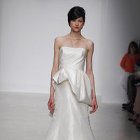 Wedding Dresses, Fashion, Modern Weddings, Strapless Wedding Dresses, Amsale, Peplum Wedding Dresses