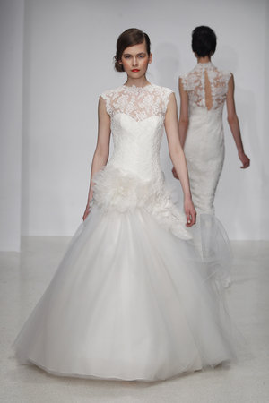 Wedding Dresses, Illusion Neckline Wedding Dresses, Lace Wedding Dresses, Romantic Wedding Dresses, Fashion, Amsale