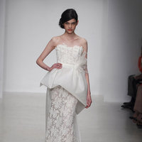 Wedding Dresses, Lace Wedding Dresses, Fashion, Modern Weddings, Amsale, Peplum Wedding Dresses