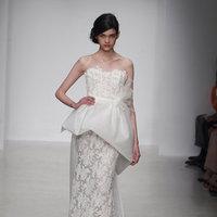 Wedding Dresses, Lace Wedding Dresses, Fashion, Modern Weddings, Amsale, Peplum Wedding Dresses