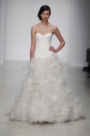 Wedding Dresses, Sweetheart Wedding Dresses, A-line Wedding Dresses, Ruffled Wedding Dresses, Lace Wedding Dresses, Romantic Wedding Dresses, Fashion, Garden Weddings, Amsale