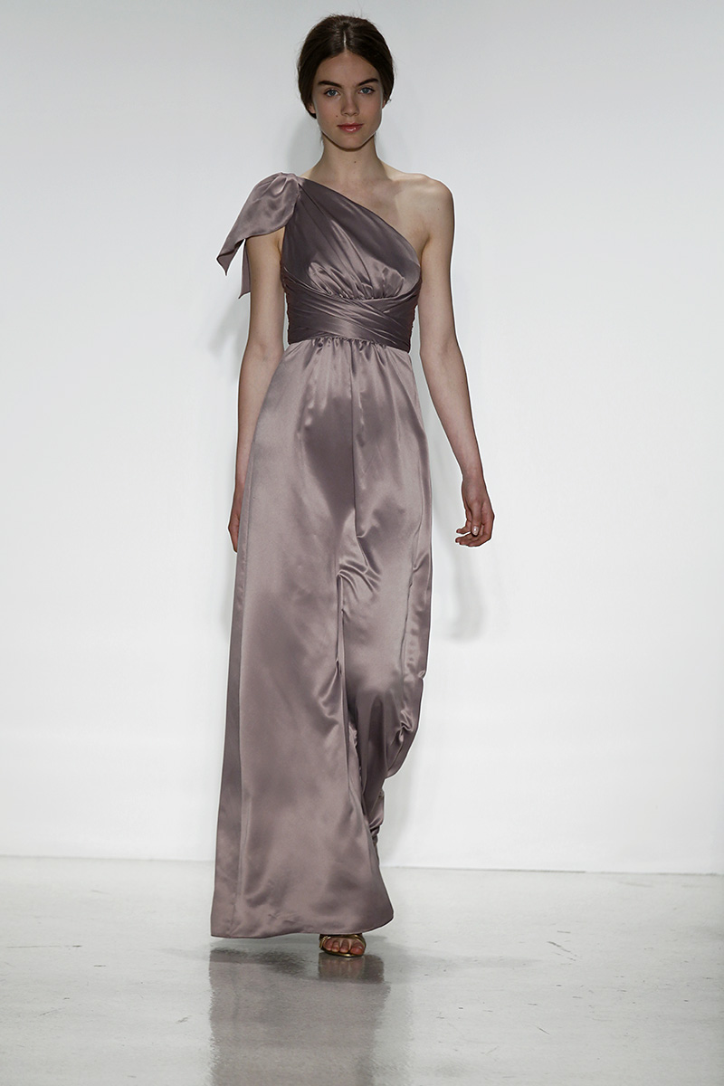 Bridesmaid Dresses, Fashion, purple, Fall Weddings, City Weddings, Modern Weddings, Amsale