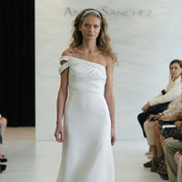 Wedding Dresses, One-Shoulder Wedding Dresses, Fashion, Modern Weddings, Angel sanchez