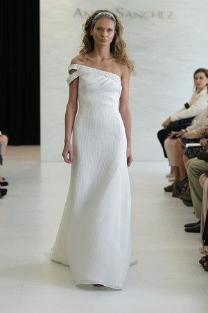 Wedding Dresses, One-Shoulder Wedding Dresses, Fashion, Modern Weddings, Angel sanchez