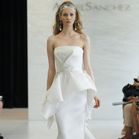 Wedding Dresses, Fashion, Modern Weddings, Angel sanchez, Peplum Wedding Dresses