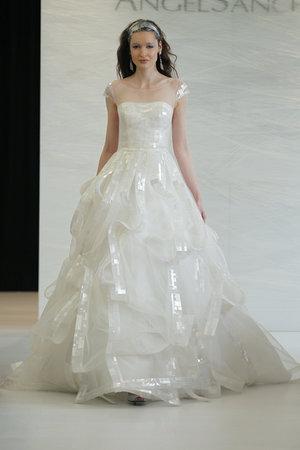 Wedding Dresses, Illusion Neckline Wedding Dresses, Ball Gown Wedding Dresses, Fashion, Winter Weddings, Modern Weddings, Angel sanchez