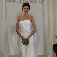 Wedding Dresses, Mermaid Wedding Dresses, Fashion, white, Modern Weddings, Strapless Wedding Dresses, Angel sanchez