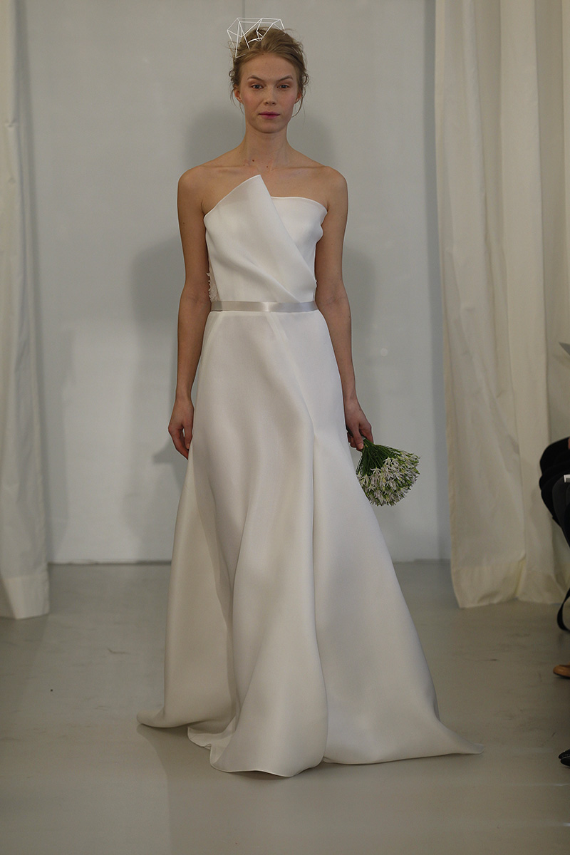Wedding Dresses, Fashion, white, Modern Weddings, Strapless Wedding Dresses, Angel sanchez