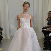 Wedding Dresses, Illusion Neckline Wedding Dresses, Ball Gown Wedding Dresses, Romantic Wedding Dresses, Fashion, white, Modern Weddings, Angel sanchez