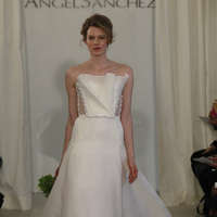 Wedding Dresses, A-line Wedding Dresses, Ruffled Wedding Dresses, Fashion, white, Modern Weddings, Angel sanchez