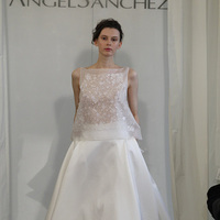 Wedding Dresses, A-line Wedding Dresses, Fashion, white, Modern Weddings, Angel sanchez