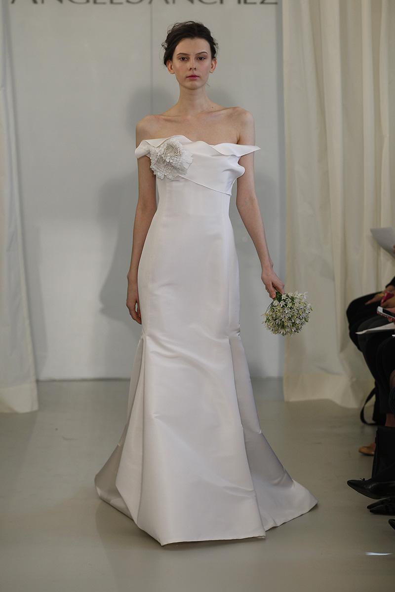 Wedding Dresses, Mermaid Wedding Dresses, Fashion, white, Modern Weddings, Angel sanchez