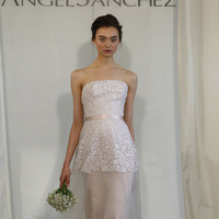 Wedding Dresses, Lace Wedding Dresses, Fashion, pink, Spring Weddings, Garden Weddings, Modern Weddings, Angel sanchez