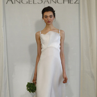 Wedding Dresses, Ruffled Wedding Dresses, Fashion, white, Modern Weddings, Angel sanchez