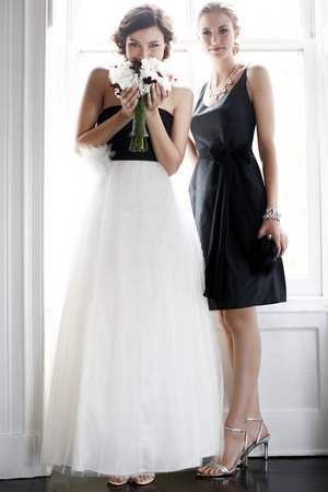 Wedding Dresses, Bridesmaid Dresses, Fashion, black, Modern Weddings, Ann taylor