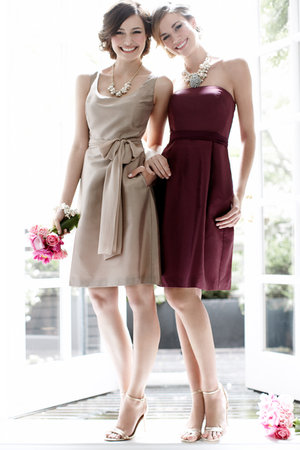 Bridesmaid Dresses, Fashion, red, gold, Fall Weddings, Ann taylor