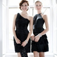 Bridesmaid Dresses, Fashion, black, Modern Weddings, Ann taylor