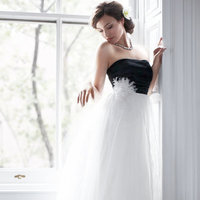 Wedding Dresses, Hollywood Glam Wedding Dresses, Fashion, black, Modern Weddings, Ann taylor, Strapless Wedding Dresses