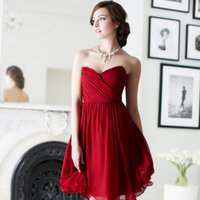 Bridesmaid Dresses, Fashion, red, Ann taylor