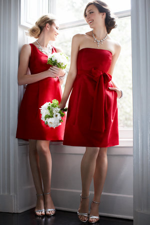 Bridesmaid Dresses, Fashion, red, Fall Weddings, Ann taylor