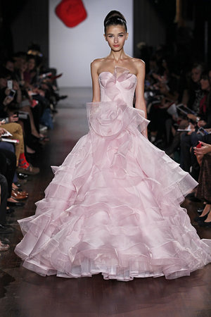 Wedding Dresses, Ruffled Wedding Dresses, Romantic Wedding Dresses, Fashion, pink, Spring Weddings, Garden Weddings, Austin scarlett