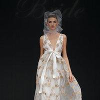 Wedding Dresses, A-line Wedding Dresses, Fashion, V-neck Wedding Dresses, patterned wedding dresses