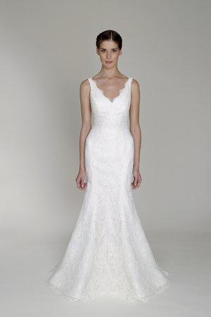 Wedding Dresses, Lace Wedding Dresses, Romantic Wedding Dresses, Rustic Vineyard Wedding Dresses, Fashion, V-neck Wedding Dresses, Bliss by Monique Lhuillier