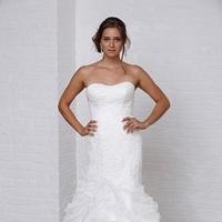 Wedding Dresses, Sweetheart Wedding Dresses, Mermaid Wedding Dresses, Ruffled Wedding Dresses, Hollywood Glam Wedding Dresses, Fashion, Glam Weddings, David's Bridal