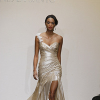 Wedding Dresses, Sweetheart Wedding Dresses, One-Shoulder Wedding Dresses, Beach Wedding Dresses, Hollywood Glam Wedding Dresses, Fashion, gold, Glam Weddings, Modern Weddings, Ines di santo, Short Wedding Dresses