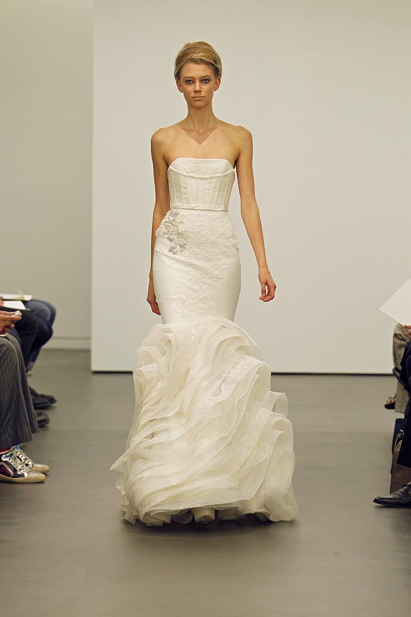 Wedding Dresses, Mermaid Wedding Dresses, Ruffled Wedding Dresses, Lace Wedding Dresses, Fashion, Modern Weddings, Vera wang