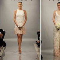 Wedding Dresses, Romantic Wedding Dresses, Fashion, pink, Short Wedding Dresses, Theia