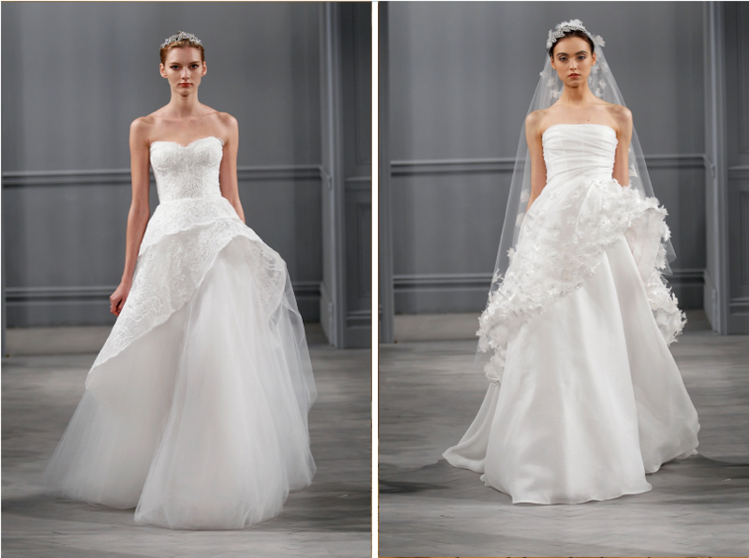 Wedding Dresses, A-line Wedding Dresses, Romantic Wedding Dresses, Fashion, Modern Weddings, Strapless Wedding Dresses, Monique lhuillier