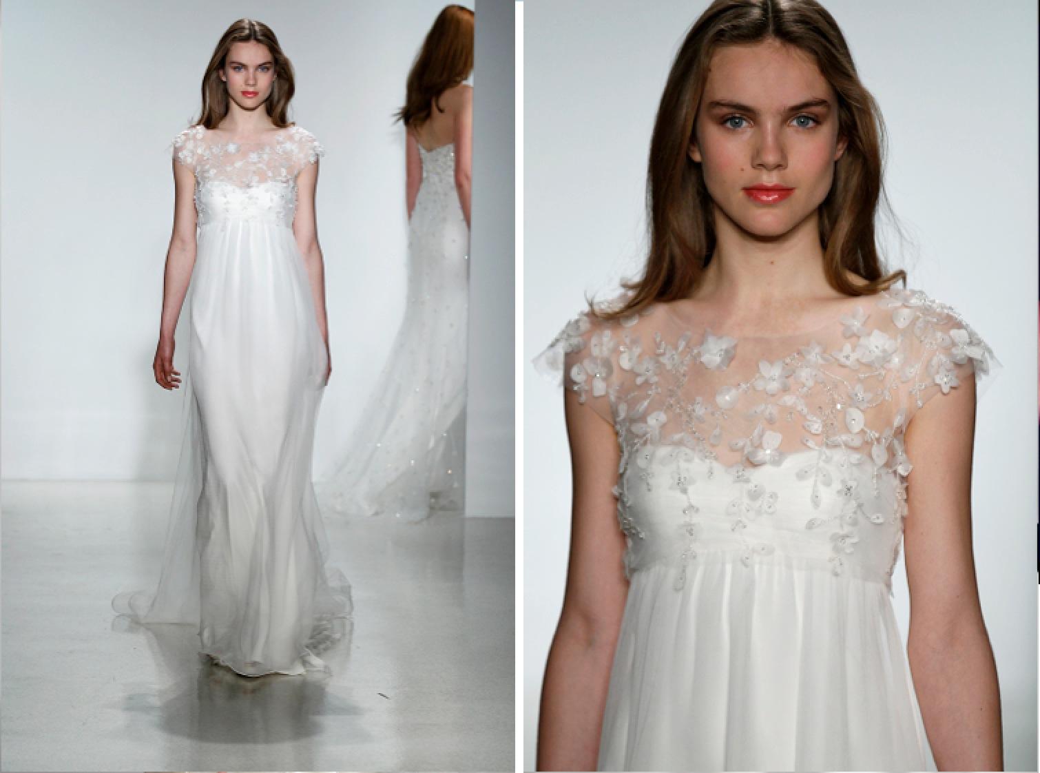 Wedding Dresses, Illusion Neckline Wedding Dresses, Romantic Wedding Dresses, Fashion, Spring Weddings, Boho Chic Weddings, Garden Weddings, Christos
