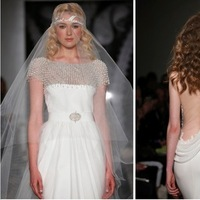 Wedding Dresses, Hollywood Glam Wedding Dresses, Fashion, Glam Weddings, Reem acra, Art Deco Weddings