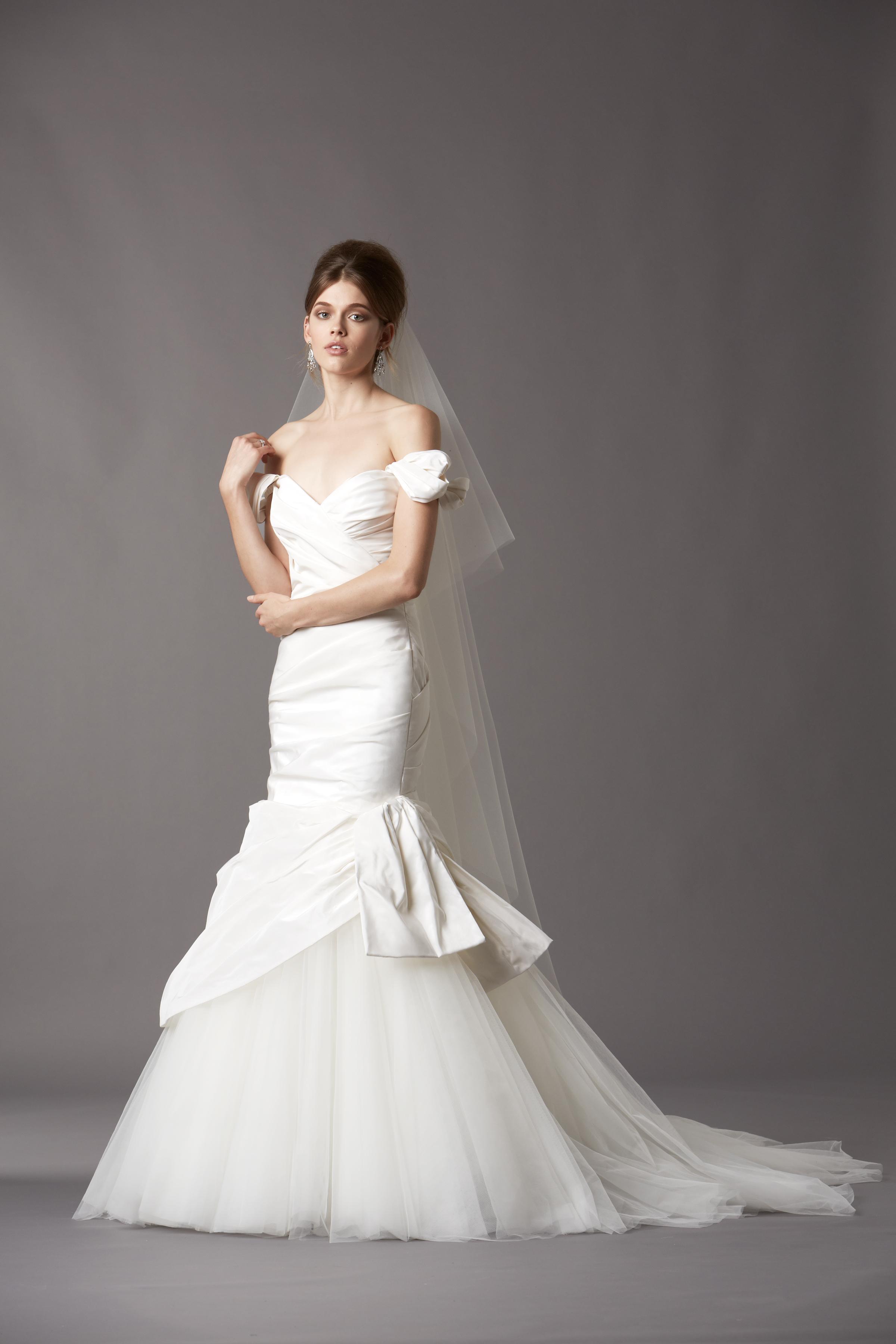Wedding Dresses, Mermaid Wedding Dresses, Fashion, Classic Weddings, Glam Weddings, Watters, Off the Shoulder Wedding Dresses