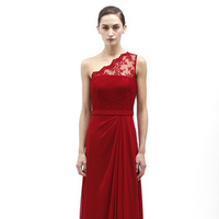 Bridesmaid Dresses, Fashion, red, Monique lhuillier