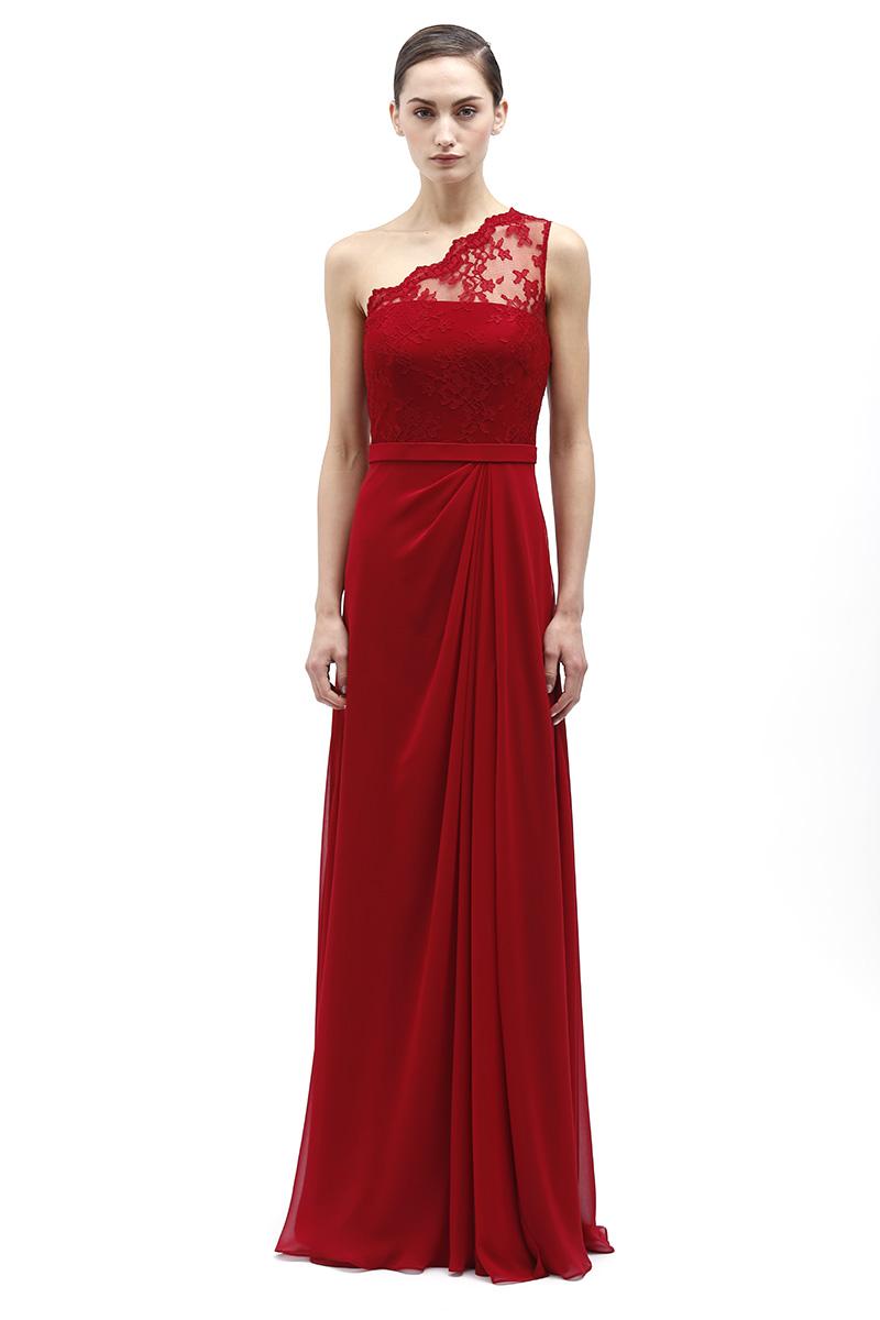 Bridesmaid Dresses, Fashion, red, Monique lhuillier